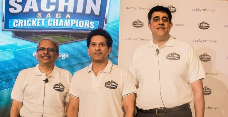 JetSynthesys' game plan: an app that lets you play like Sachin Tendulkar